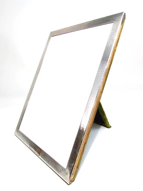JAMES E. BLAKE STERLING SILVER PHOTO FRAME