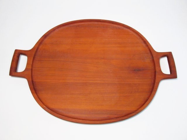 DANSK DANISH MODERN CARVED TEAK TRAY