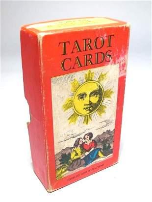 VINTAGE TAROT CARDS - AG MULLER & CIE SWITZERLAND