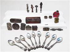 STERLING  OTHER VANITY TYPE ACCESSORIES VICTORIAN