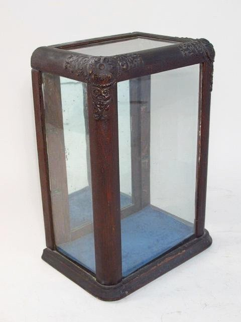 RARE ANTIQUE NOKA GUM WOODEN STORE DISPLAY CASE