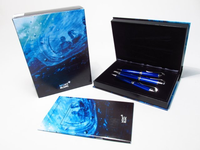 MONTBLANC JULES VERNE WRITERS EDITION 3ER SET FP/BP/MP