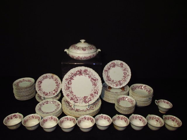 "WEDGWOOD ""OLD VINE"" PORCELAIN DINNERWARE"