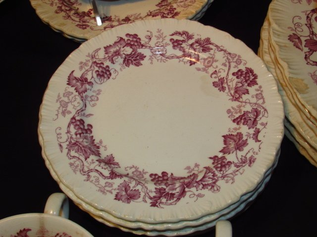 "WEDGWOOD ""OLD VINE"" PORCELAIN DINNERWARE - 3"