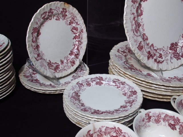 "WEDGWOOD ""OLD VINE"" PORCELAIN DINNERWARE - 4"