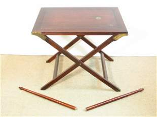 MID CENTURY CONVERTIBLE SIDE TABLE OR HALL TABLE