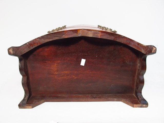 ANTIQUE SALESMANS SAMPLE BOWFRONT CHEST OF DRAWERS - 8