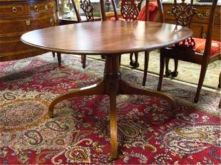 OVAL SHAPED PECAN WOOD DINING OR DINETTE TABLE