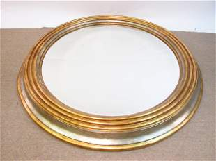 LARGE MAITLAND SMITH CIRCULAR BEVELED GLASS WALL M