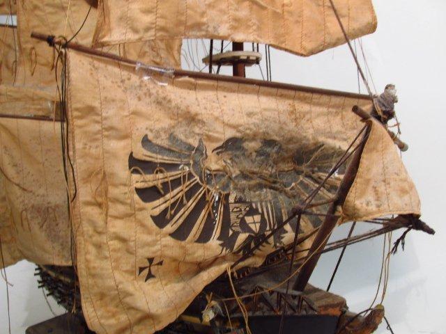 "VINTAGE MODEL SHIP ""NAVIO ESPANOL"" - 2"
