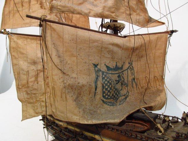 "VINTAGE MODEL SHIP ""NAVIO ESPANOL"" - 3"