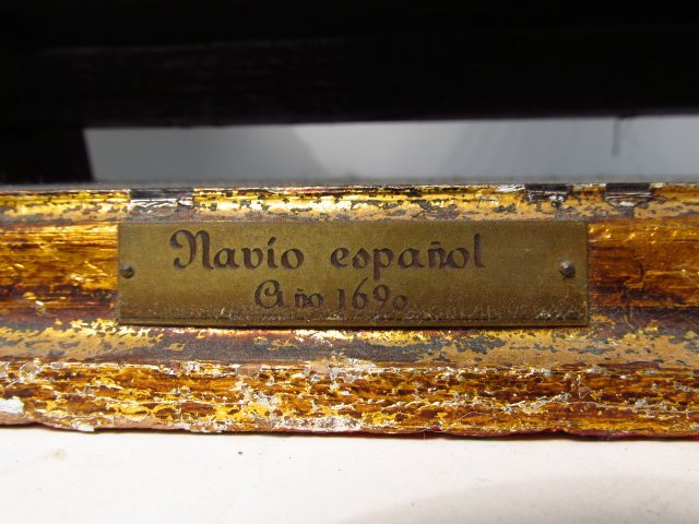 "VINTAGE MODEL SHIP ""NAVIO ESPANOL"" - 5"