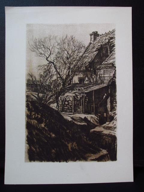 COLLECTION OF FIFTEEN MUIRHEAD BONE LITHOGRAPHS - 10