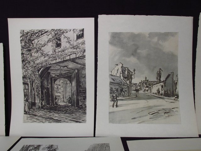 COLLECTION OF FIFTEEN MUIRHEAD BONE LITHOGRAPHS - 4
