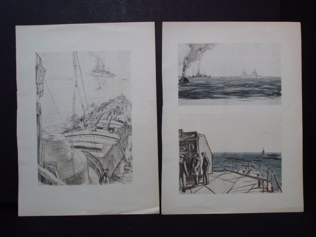 COLLECTION OF FIFTEEN MUIRHEAD BONE LITHOGRAPHS - 5