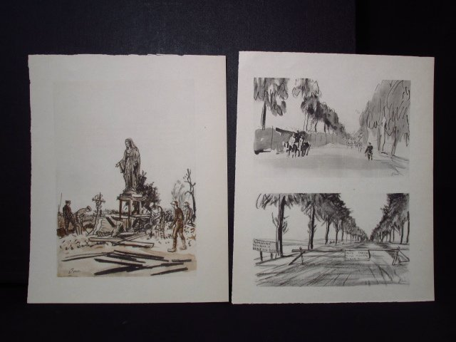 COLLECTION OF FIFTEEN MUIRHEAD BONE LITHOGRAPHS - 6