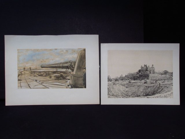 COLLECTION OF FIFTEEN MUIRHEAD BONE LITHOGRAPHS - 7