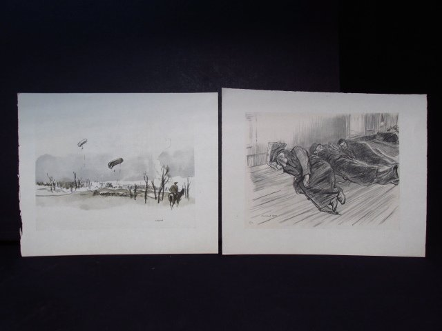 COLLECTION OF FIFTEEN MUIRHEAD BONE LITHOGRAPHS - 9