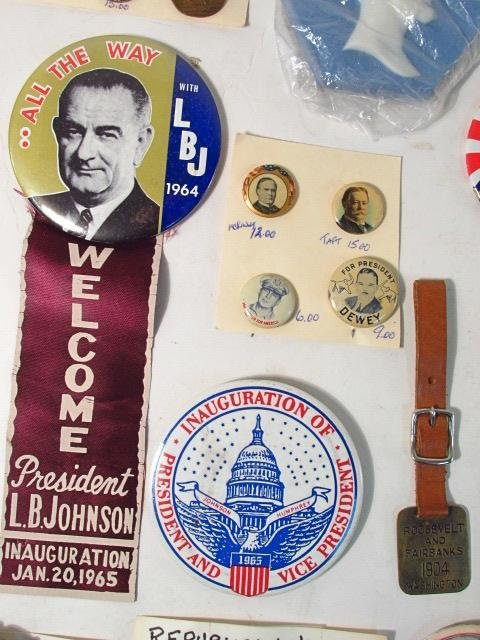 ASSORTED PRESIDENTIAL ELECTION EPHEMERA: GARFIELD, - 7