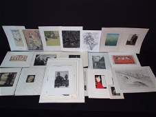 LARGE COLLECTION OF ASSORTED GERMAN PRINTS ETC