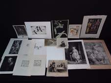 COLLECTION FRENCH AND OTHER PRINTS, ETCHINGS, ETC.