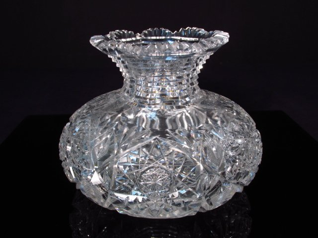 GROUP LOT 13 PCS CUT CRYSTAL & GLASS - 7