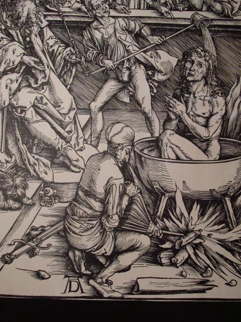 FOUR ALBRECHT DURER POSTHUMOUS WOODCUT PRINTS - 6