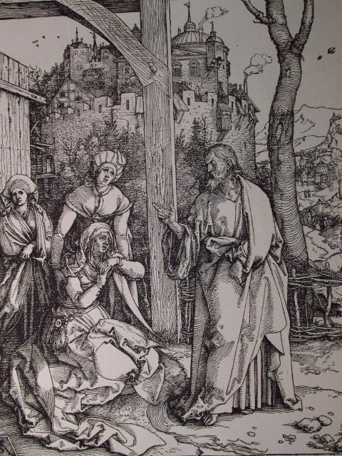 FOUR ALBRECHT DURER POSTHUMOUS WOODCUT PRINTS - 8