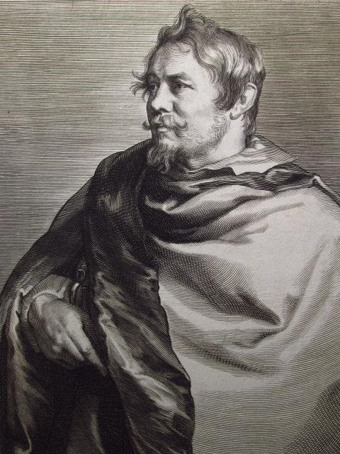 PAULUS PONTIUS ETCHING AFTER VAN DYCK: SEGERS - 2