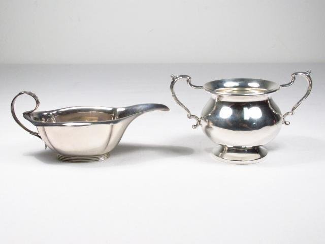 LOT OF VARIOUS STERLING SILVER SERVING ACC. 23.5 T - 2