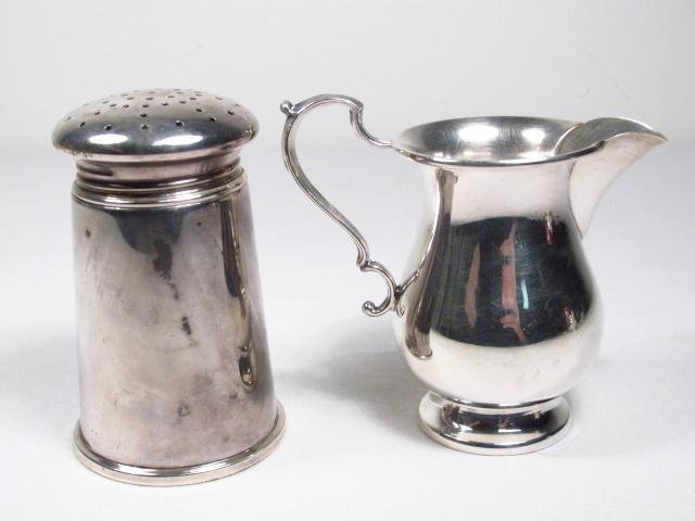 LOT OF VARIOUS STERLING SILVER SERVING ACC. 23.5 T - 4