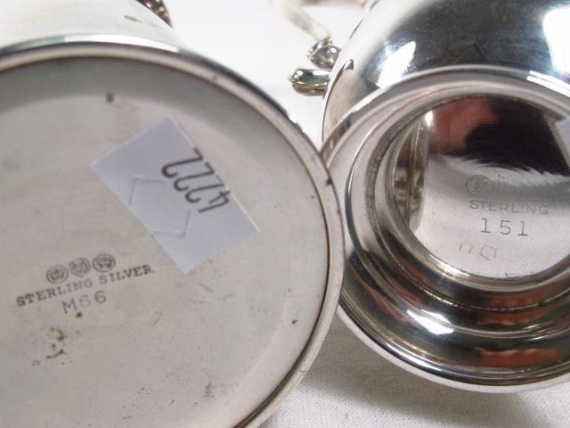 LOT OF VARIOUS STERLING SILVER SERVING ACC. 23.5 T - 5