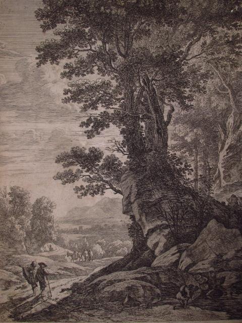TWO HERMAN VAN SWANEVELT ORIGINAL ETCHINGS - 4