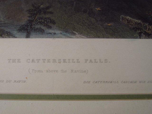 FOUR FRAMED BARTLETT ENGRAVINGS: CATSKILLS - 9