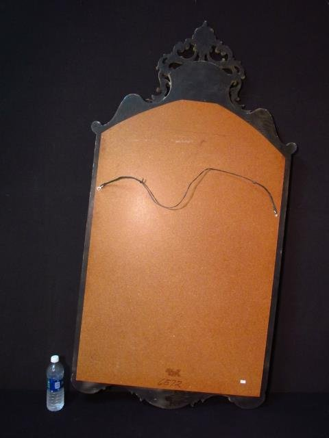 LARGE CHINOISERIE STYLE WALL MIRROR - 10