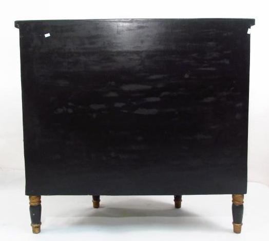 CHINOISERIE STYLE DEMILUNE CHEST OF DRAWERS - 8