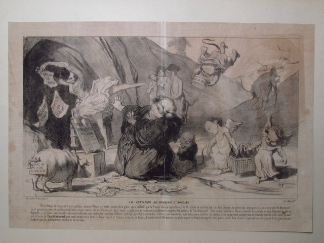 FIVE LARGE HONORE DAUMIER LITHOGRAPHS - 3