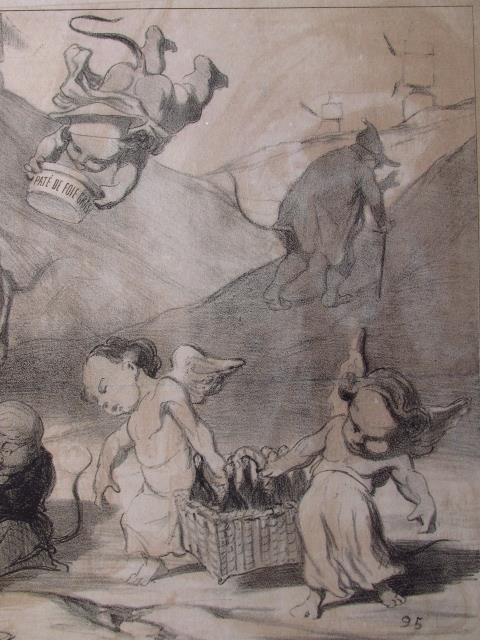 FIVE LARGE HONORE DAUMIER LITHOGRAPHS - 4