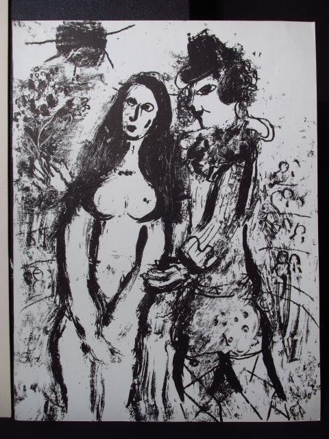 SIX VINTAGE MARC CHAGALL LITHOGRAPHS: RARE COLOR - 5