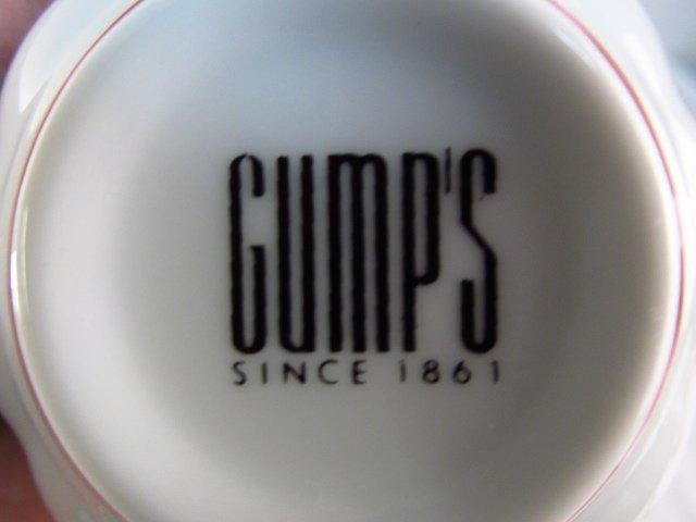 """GUMPS """"KIKU IMARI"""" PORCELAIN DINNERWARE: 81 PCS - 3"""