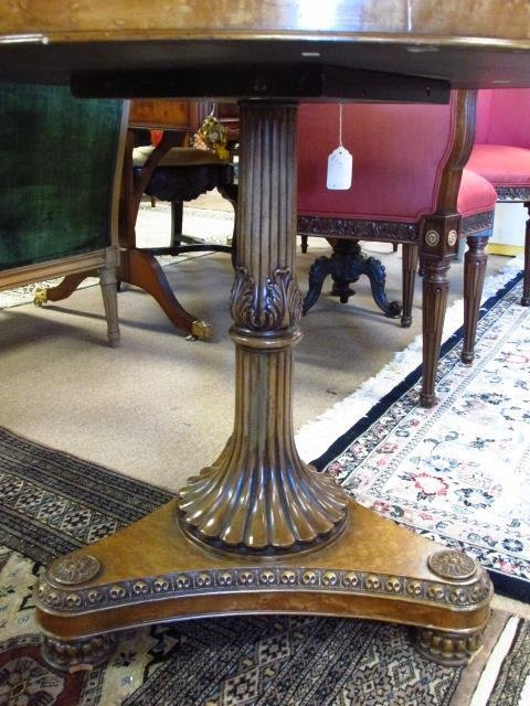 MARQUETRY INLAID CENTER OR OCCASIONAL TABLE - 5