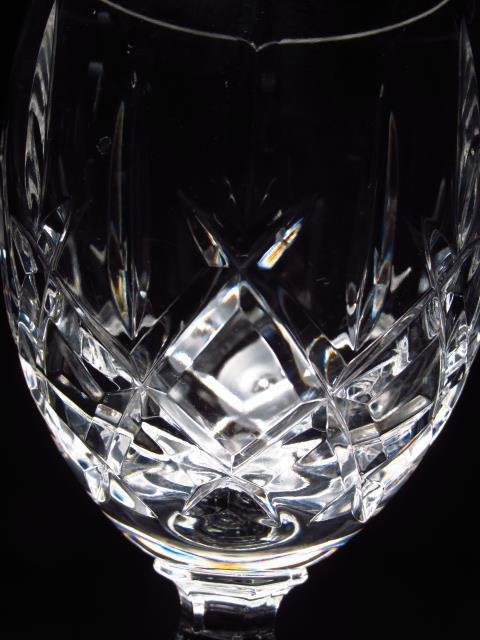 TWELVE WATERFORD STYLE CUT CRYSTAL STEMS - 5