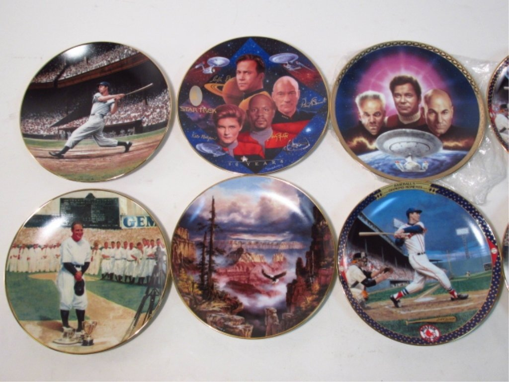 LARGE GROUP OF COLLECTOR'S PLATES: RELIGIOUS, BASE - 5