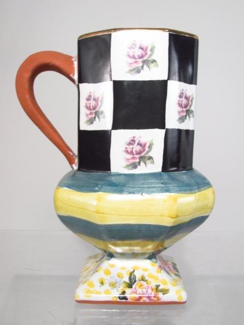 "MACKENZIE CHILDS ""SEA AND SHORE"" POTTERY: 5 PCS - 3"