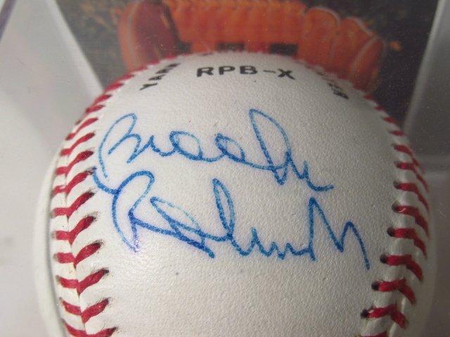 FOUR MLB SIGNED BASEBALLS - NOLAN RYAN, BOB FELLER - 3