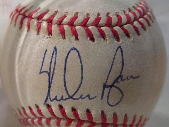 FOUR MLB SIGNED BASEBALLS - NOLAN RYAN, BOB FELLER - 5