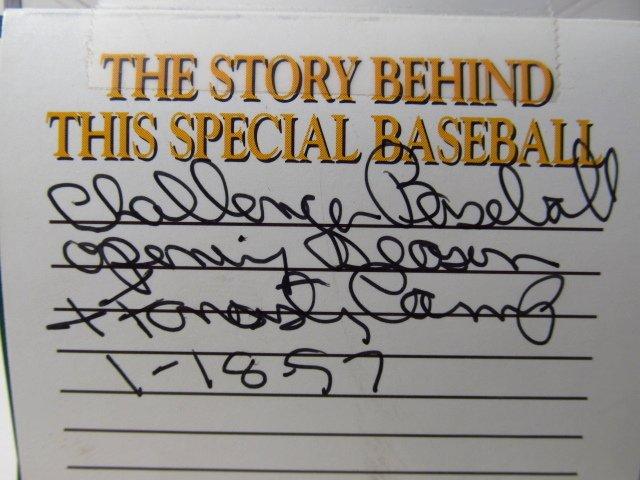 FOUR MLB SIGNED BASEBALLS - NOLAN RYAN, BOB FELLER - 7