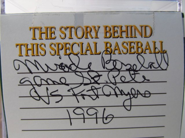 FOUR MLB SIGNED BASEBALLS - NOLAN RYAN, BOB FELLER - 9