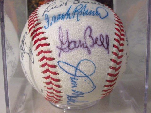 THREE MLB PLAYER SIGNED BASEBALLS - 2
