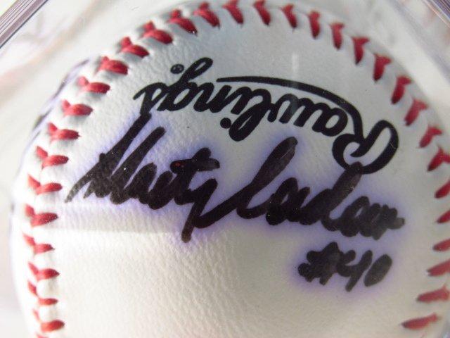 THREE MLB PLAYER SIGNED BASEBALLS - 5